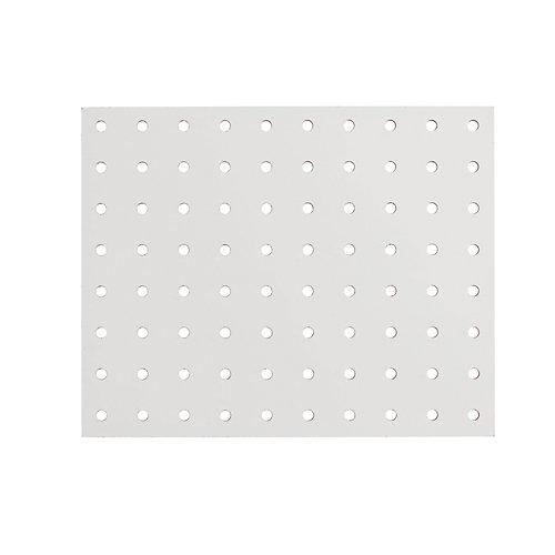 5.5mm 48-inch X96-inch White HDF Hardboard Pegboard
