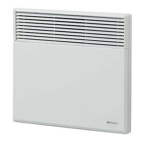 Convecteur électrique mural de 1000W / 240V  - blanc
