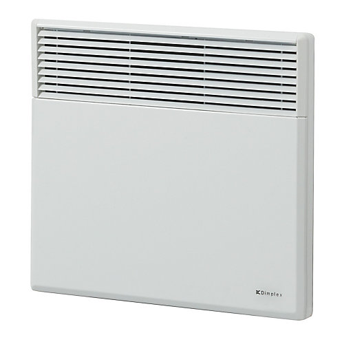 White Electric Panel Convection Heater  2000 Watt / 240 Volt