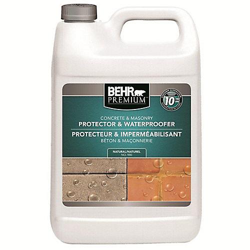 BEHR PREMIUM Protecteur & Imperméabilisant pour Béton & Maçonnerie - 3,79L