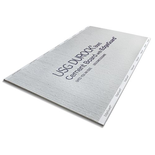 CGC Durock Cement Board with EdgeGuard 1/2 in. x 4 ft. x 8 ft.