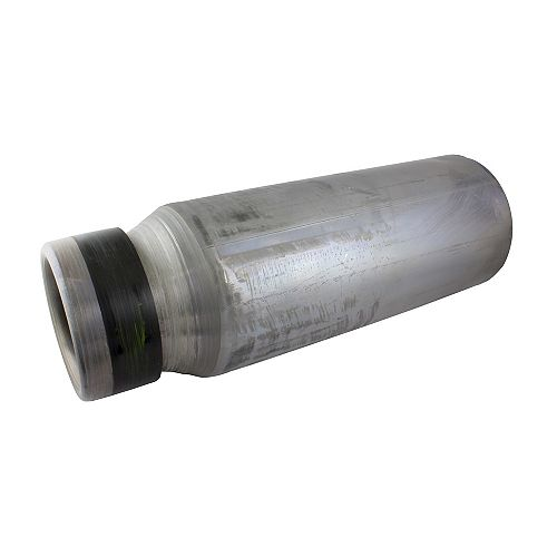 HDG 4 inch X 3 inch X 8 inch Reducing Lead Connector