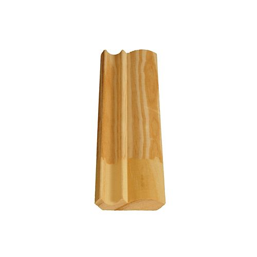 Alexandria Moulding Finger Jointed Pine Ogee/Crown 7/16 In. x 2-1/8 In. x 8 Ft.