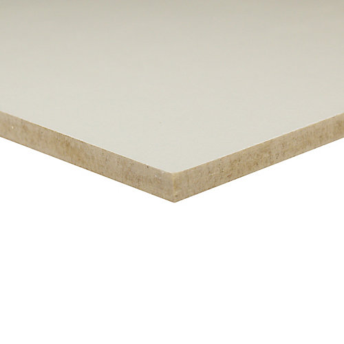 1/4-inch 2 Feet x 4 Feet White Vinyl Handy Panel
