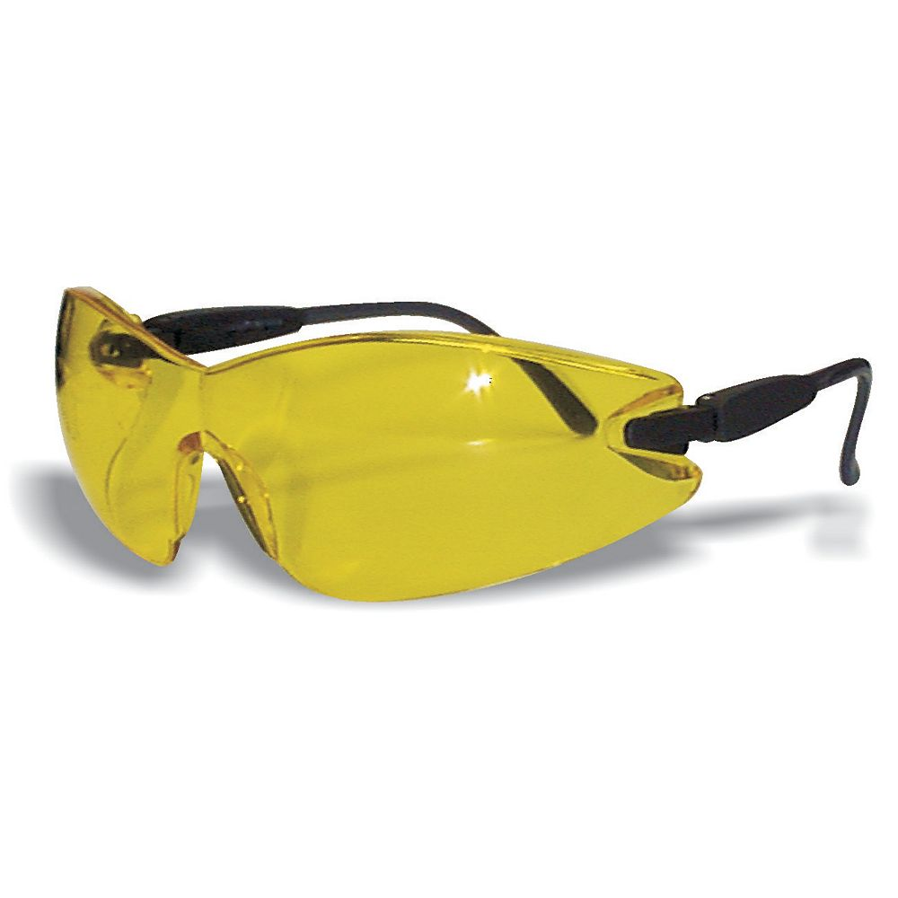 Workhorse Frameless Safety Glass Amber Lens