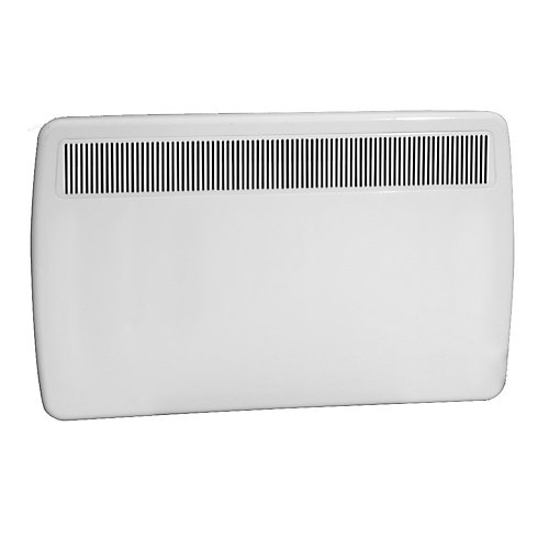1000W/240V Electric Panel Convection Heater - White