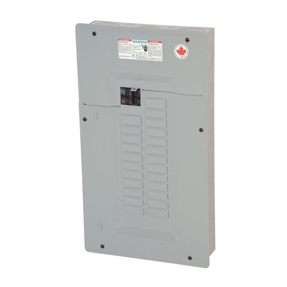 Siemens Service Entrance Loadcentre 100A 24 Circuits Expandable to 48