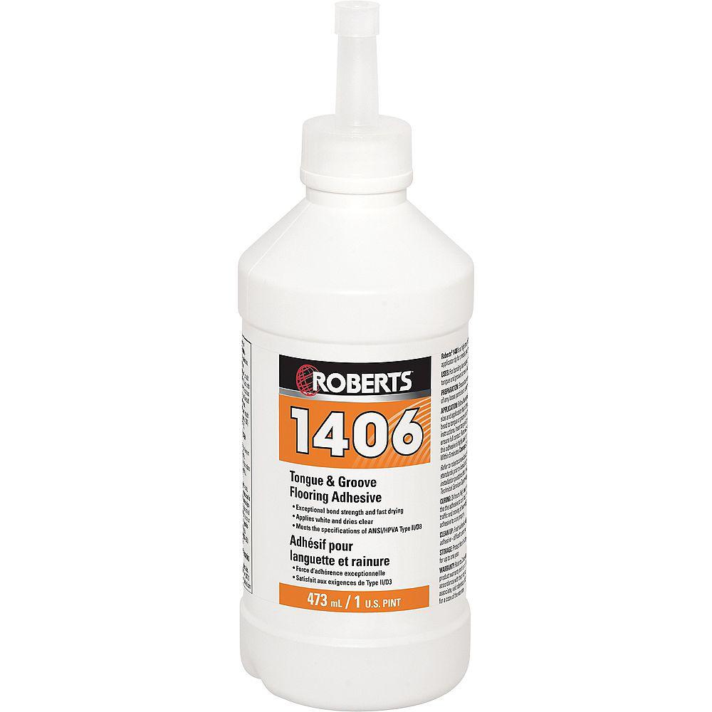 Roberts 1406, 473mL Tongue and Groove Adhesive
