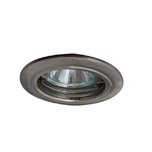 Mini Luminaires cylindriques à encastrer, Bas Voltage, satiné en nickel