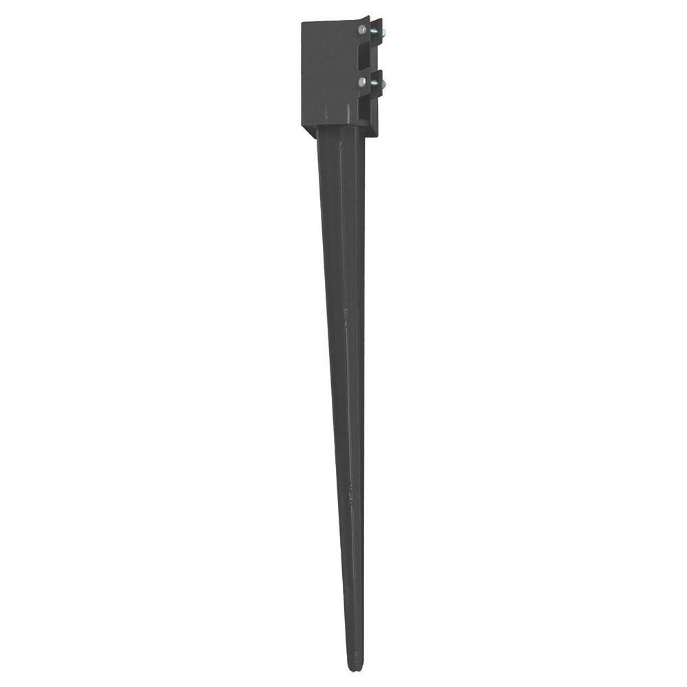 Peak Products 36-inch Ground Spike for 4x4 Post Installation