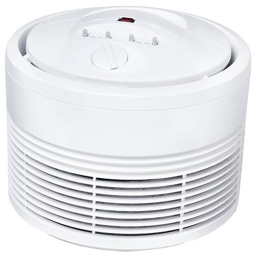 Permanent True HEPA Round Air Purifier with Germ Reduction