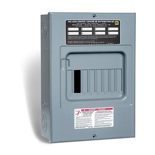 100 Amp  Sub Panel Loadcentre with 8 spaces, 15 Circuits Maximum