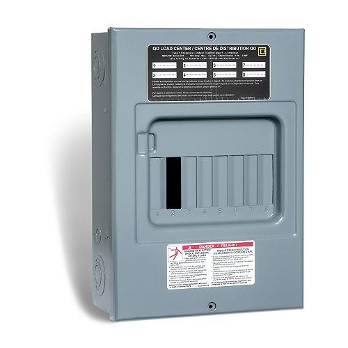 Single Pole 15 Amp QO Neutral Combination Arc Fault Plug-On Circuit Breaker