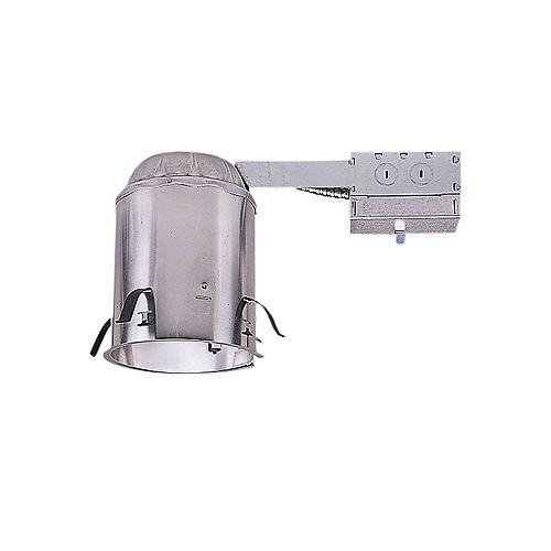 Boîtier H5RICAT pour rénovation, plafond isolé, ouverture de 13 cm