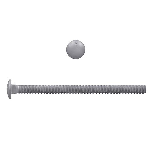 Paulin 5/16-inch x 5-inch Carriage Bolt - Hot Dipped Galvanized - UNC