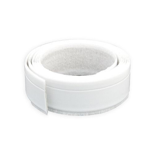 1/4-inch x 1 1/4-inch x 66-inch Plastic Contour Seal for Bathtubs