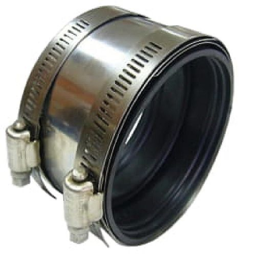 Shielded Coupling 3 inch Cast Iron To 3 inch Copper