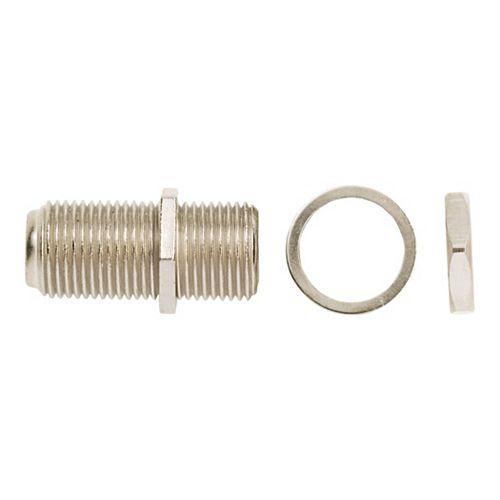 Adaptateur rallonge coaxiale pour câblodistribution, paquet de 10