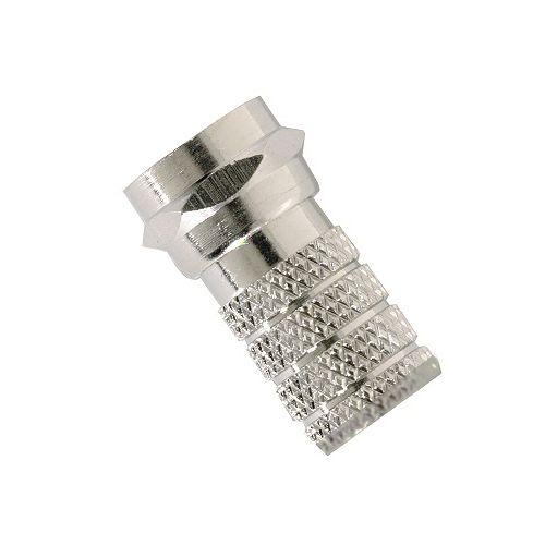 Connecteur RG6 de type F vissable pour câblodistribution, paquet de 10