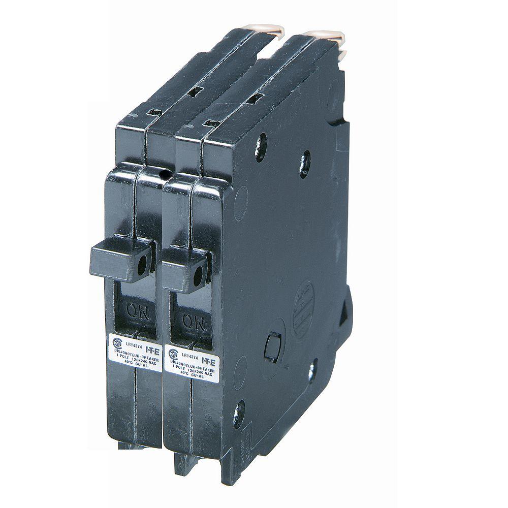 Siemens 20A 2 Pole 120/240V Blue-Line Breaker