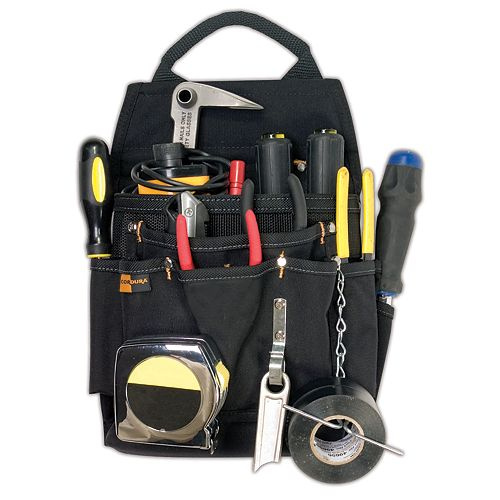 11-Pocket Professional Electrician's Pouch