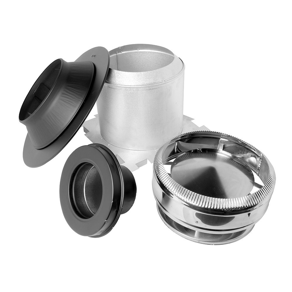 SuperVent Max Chimney Ceiling Support Kit - 7 Inch