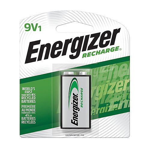 Energizer Energizer Recharge Universal Rechargeable 9V Batteries, 1 Pack
