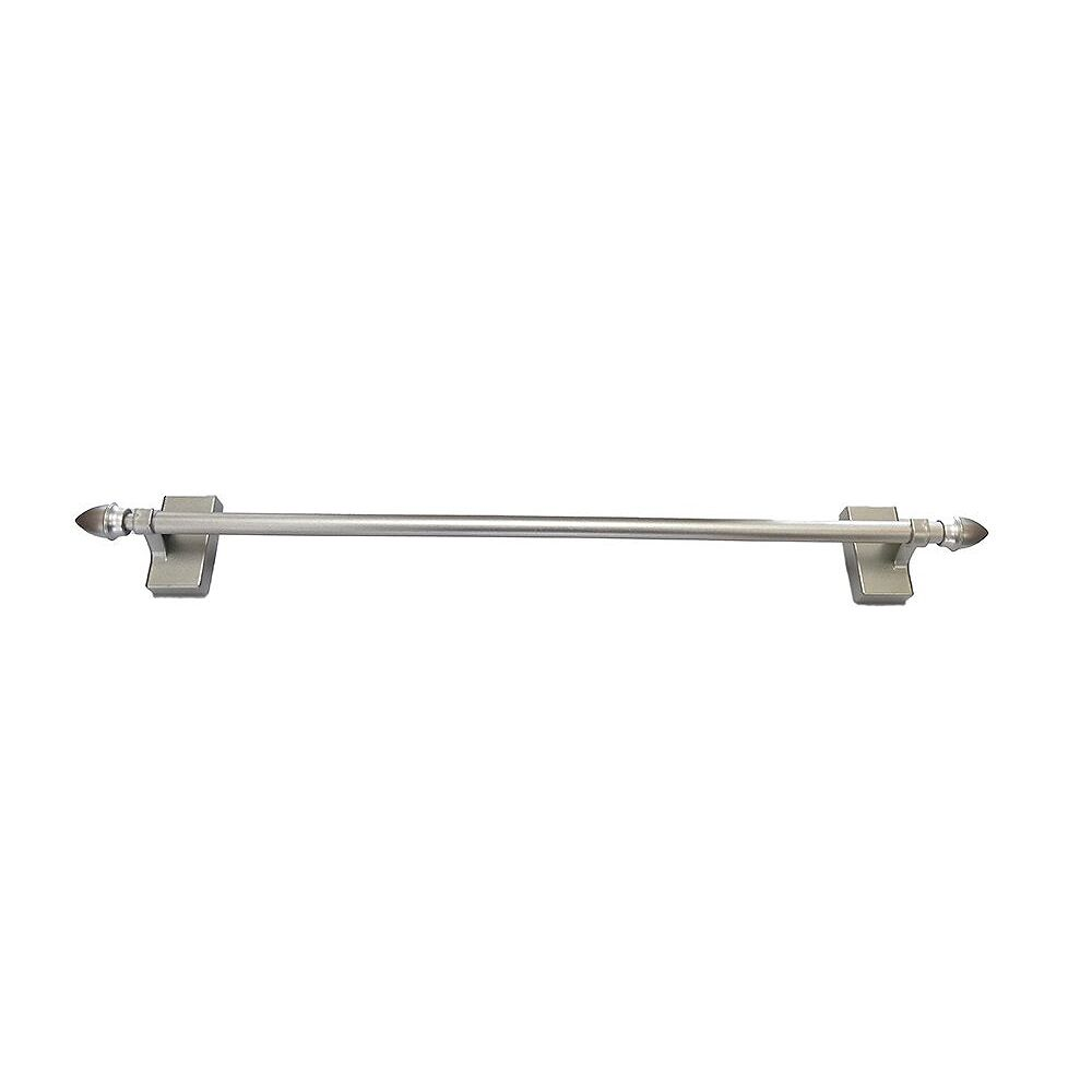 Home Decorators Collection 16-inch to 28-inch Magnetic Café Rod in Satin Nickel