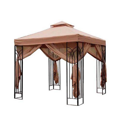 10 ft. x 10 ft. Cabin-Style Gazebo
