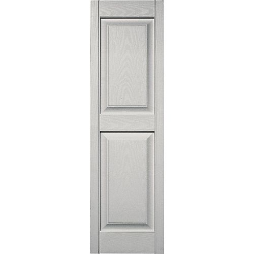 15-inch x 59-inch Paintable Panel Shutter