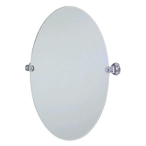 Miroir de Pivot Biseauté Ovale