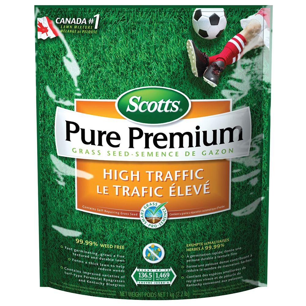 Scotts Scotts Pure Premium High Traffic Grass Seed Mix -1 kg