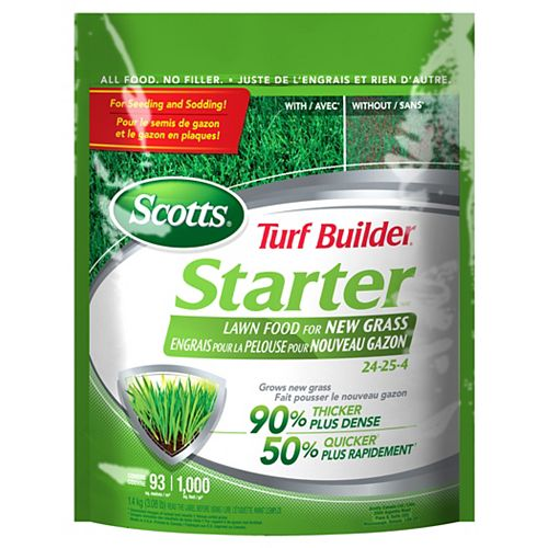 Turf Builder Starter Fertilizer 24-25-4
