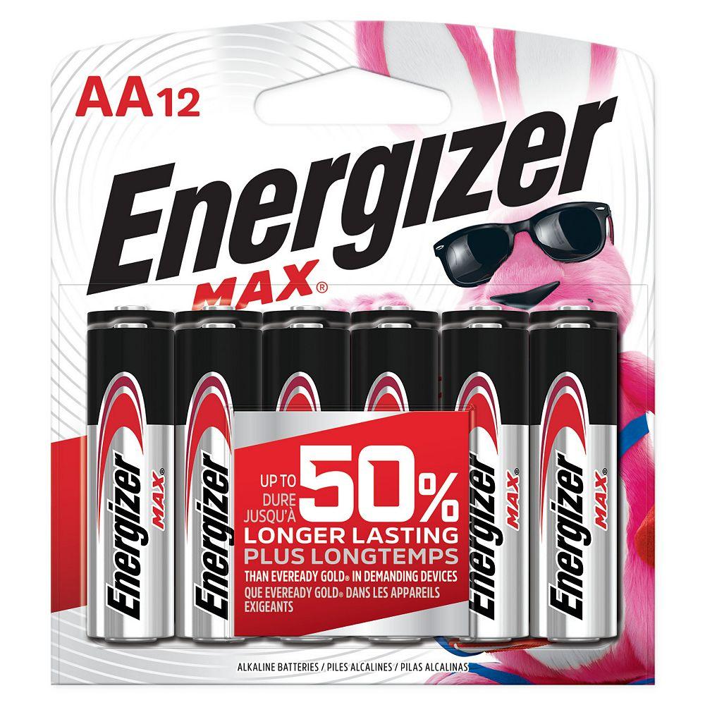 Energizer Energizer MAX Alkaline AA Batteries, 20 Pack