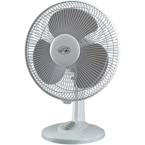 12 In. Oscillating Table Fan