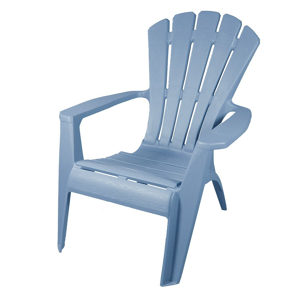 Gracious Living Adirondack Outdoor Chair in Sky Blue