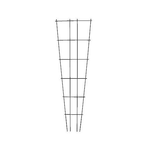 72-inch Green-Vinyl Coated Plant Trellis