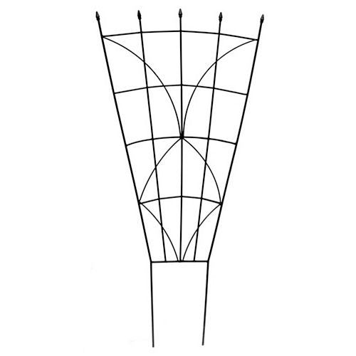 40-inch Haven Fan Trellis in Black