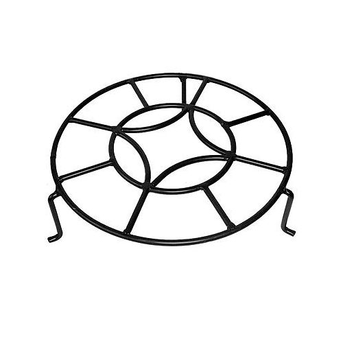 Peak Products 13-inch North Star Plant Trivet in Black