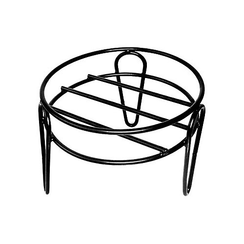 13-inch x 10-inch Simple Plant Stand in Black