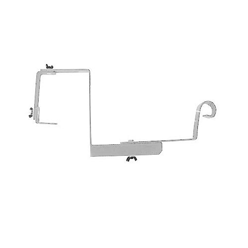 "12"" SUPPORT POUR RAMPE AJUSTABLE - BLANC"