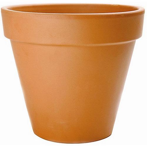 35.6 cm Pot De Fleur - Terre Cuite