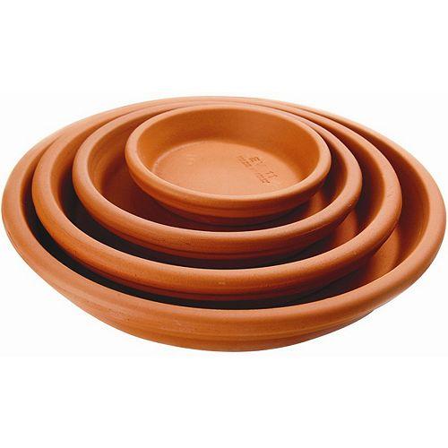 12 1/4-inch Saucer in Terra Cotta