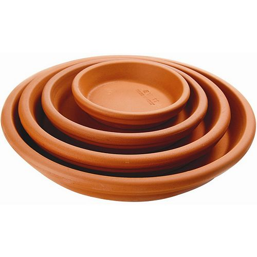 4-inch Saucer in Terra Cotta