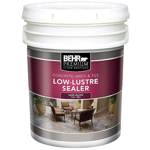 Interior/Exterior Low-Lustre Sealer - 18.9L