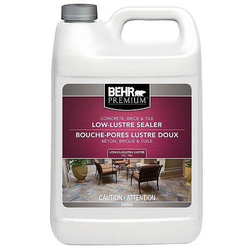 Concrete, Brick & Tile Wet-Look Sealer, Low-Gloss - 3.79L