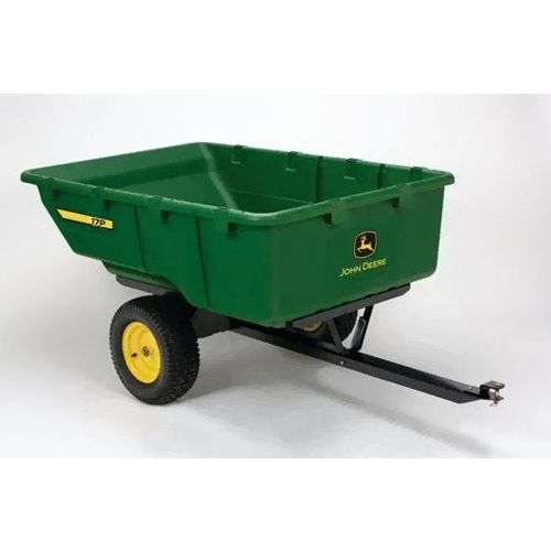 1,000 lb. 17 cu. ft. Tow-Behind Poly Utility Cart