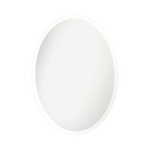 24-inch x 36-inch Beveled Oval Mirror