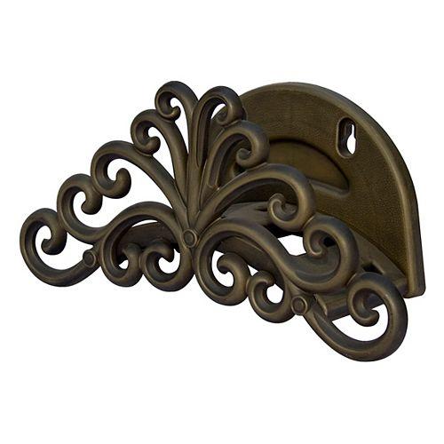 Support a tuyau decoratif Poly - Capacite 100 pieds