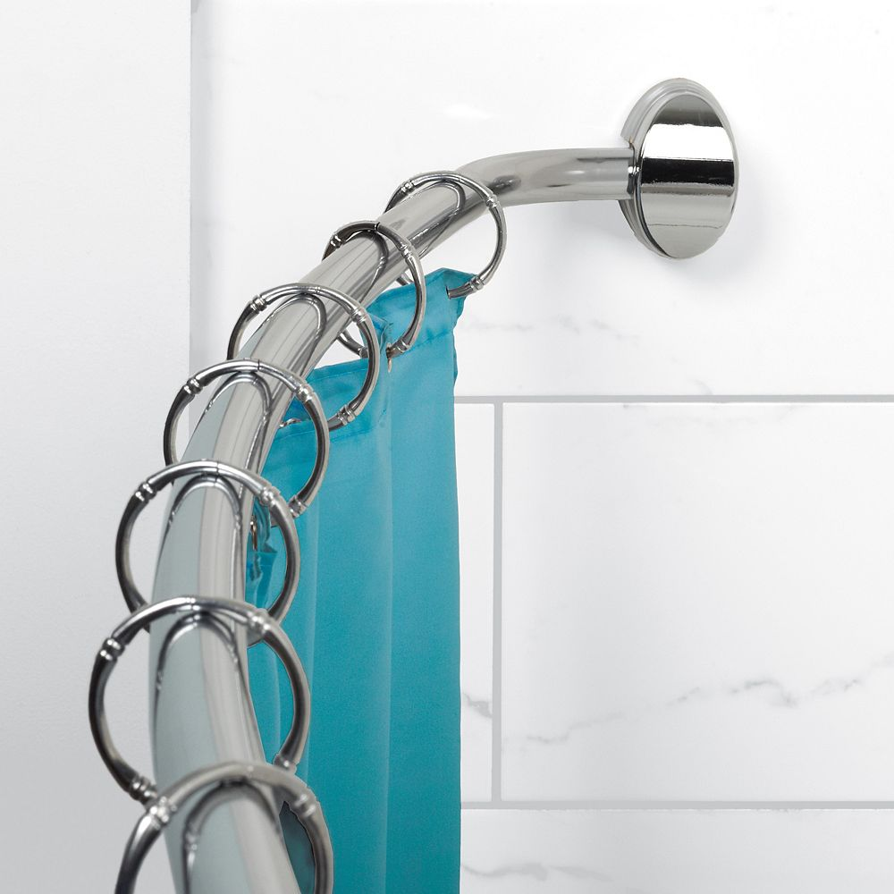 Zenith Products Curved Hotel Rod - Chrome